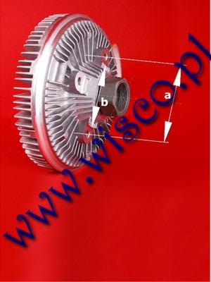 Sprzęgło wentylatora chłodnicy 87340008 303195A1 pasująca do ciągników i koparkoładowarek CASE SuperLE