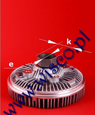 Sprzęgło wiskotyczne 303195A1 pasująca do koparkoładowarek CASE 580 SLE